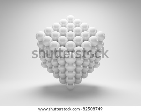 Geometric shapes from array balls