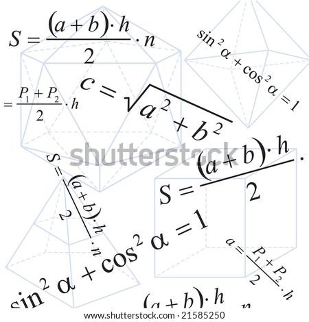 Geometry background - stock photo
