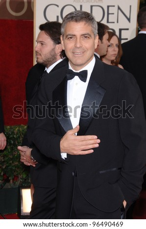 GEORGE CLOONEY at the 63rd Annual Golden Globe Awards at the Beverly Hilton Hotel. January 16, 2006  Beverly Hills, CA  2006 Paul Smith / Featureflash