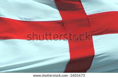 George cross England flag - stock photo