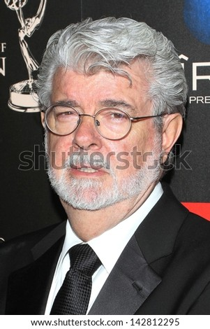 George Lucas at the 40th Annual Daytime Emmy Awards, Beverly Hilton Hotel, Beverly Hills, CA 06-16-13 - stock photo