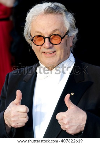 George Miller at the 88th Annual Academy Awards held at the Dolby Theatre in Hollywood, USA on February 28, 2016. - stock photo