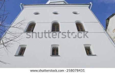 George monastery of the 12th century. Veliky Novgorod, Russia. - stock photo
