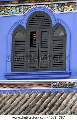 George Town Unesco World Heritage Site, Penang, Malaysia - stock photo