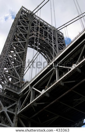 George Washington Bridge - stock photo