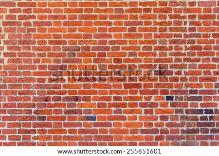 Georgetown townhouses brick wall texture detail Washington DC in USA - stock photo
