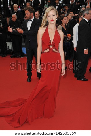 "Georgia May Jagger, daughter of Mick Jagger, at the premiere of ""The Great Gatsby"" the opening movie of the 66th Festival de Cannes. May 15, 2013  Cannes, France - stock photo"