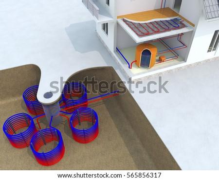Geothermal Heated Floors Acai Sofa