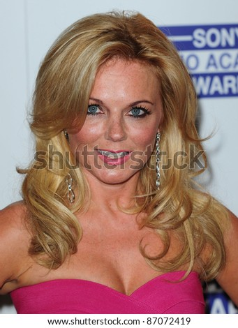 Geri Halliwell  arriving for the Sony Radio Academy Awards, Grosvenor House Hotel on 09/05/2011  Picture by: Simon Burchell / Featureflash - stock photo