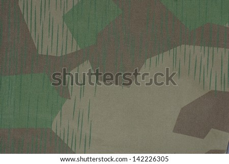German camouflage world war two - stock photo