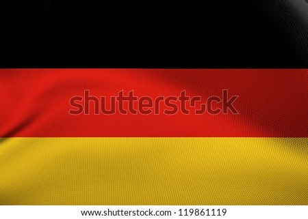 German national flag. - stock photo