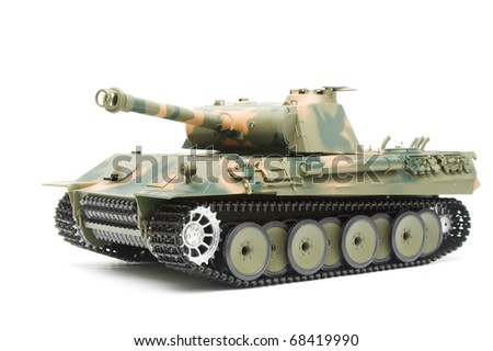 German Panther tank model