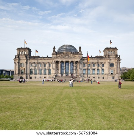 German Reichstag in Berlin