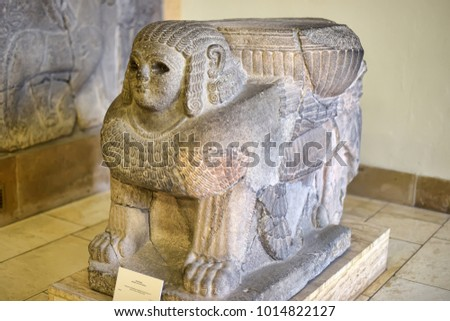 germany berlin 26032015 mesopotamian art war stock photo royalty