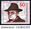 GERMANY - CIRCA 1976: a stamp printed in the Germany shows Dr. Carl Sonnenschein, Roman Catholic Clergyman and Social Reformer, circa 1976 - stock photo