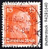 GERMANY - CIRCA 1926: a stamp printed in the Germany shows Immanuel Kant, philosopher, circa 1926 - stock photo