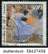 GERMANY- CIRCA 1999: stamp printed by Germany, shows Johann Strauss, the Younger, circa 1999. - stock photo