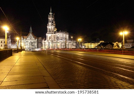 Germany. Dresden. City panorama