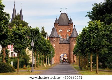 stock arsch Xanten(North Rhine-Westphalia)