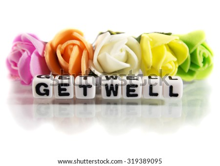 Get Well Soon Flowers Images RoyaltyFree Images Vectors – Get Well Soon Message
