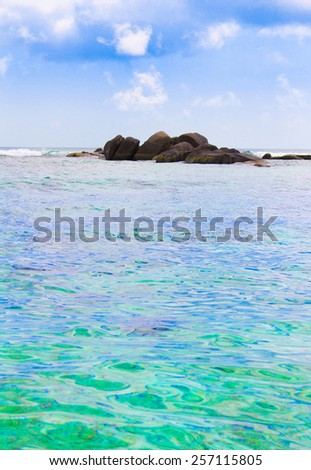 Getaway Summer Beach  - stock photo