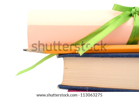 Getting a degree in school - stock photo