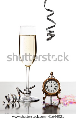 Getting Closer to New Years - stock photo