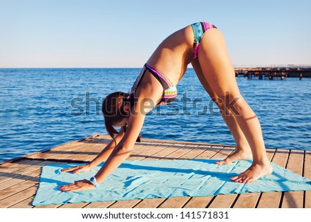 Getting Fit - stock photo
