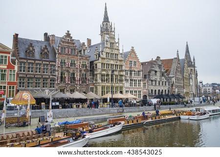 Ghent. Image of Ghent, Belgium - stock photo