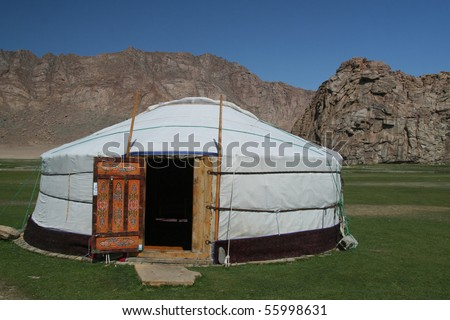 Gher: home for nomadic people of mongolia