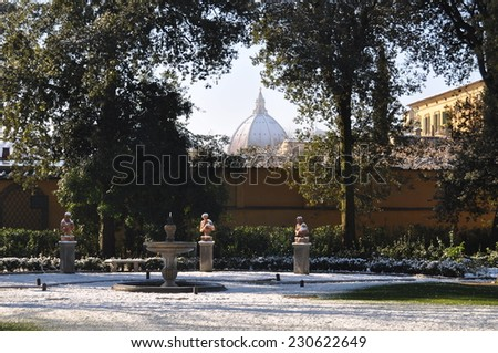 Gherardesca's Garden  - stock photo