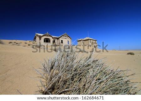 Ghost Town Kolmanskop - stock photo