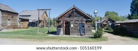 Ghost Town, Nevada City, Montana - stock photo
