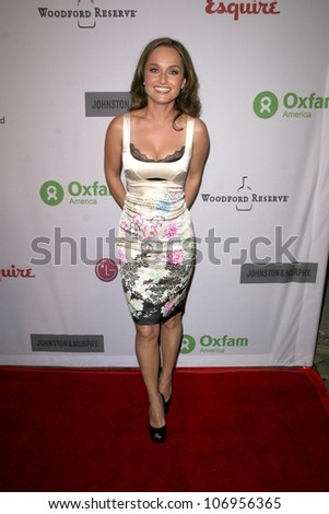 Giada De Laurentiis  at 'The Annual Oxfam Party'. Esquire House, Hollywood, CA. 11-14-08
