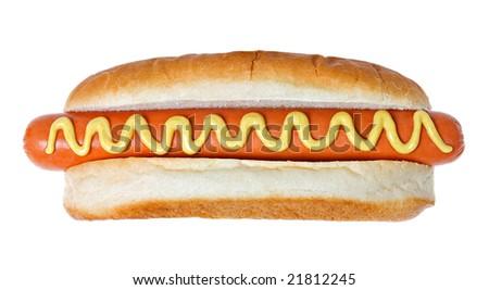 Giant Hot Dog - stock photo