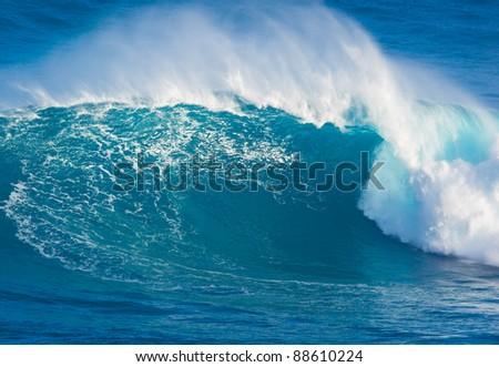 Giant Ocean Wave - stock photo