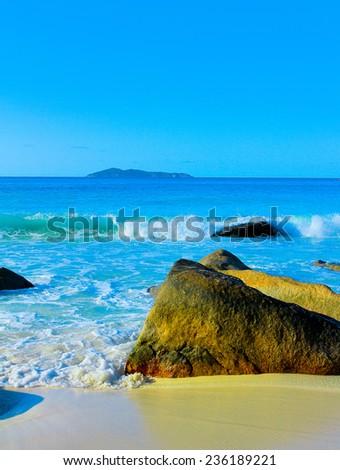 Giant Sea Island  - stock photo