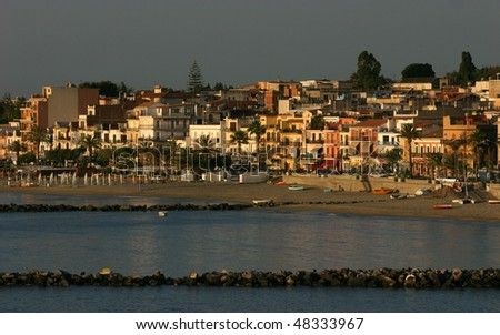 giardini naxos - stock photo