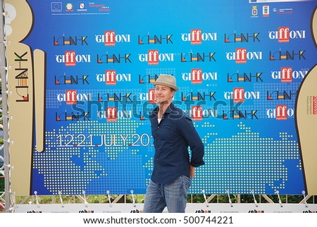 Giffoni Valle Piana, Sa, Italy - July 13, 2011 : Edward Norton at Giffoni Film Festival 2011 - on July 13, 2011 in Giffoni Valle Piana, Italy
