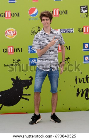 Giffoni Valle Piana, Sa, Italy - July 18, 2017 : Favij at Giffoni Film Festival 2017 - on July 18, 2017 in Giffoni Valle Piana, Italy