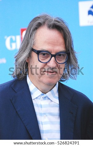 Giffoni Valle Piana, Sa, Italy - July 16, 2016 : Gigi Marzullo at Giffoni Film Festival 2016 - on July 16, 2016 in Giffoni Valle Piana, Italy
