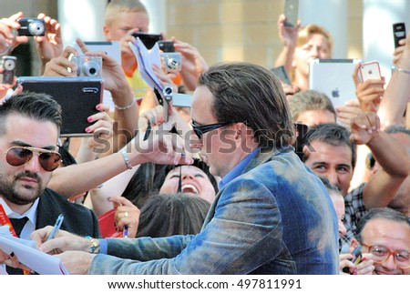 Giffoni Valle Piana, Sa, Italy - July 18, 2012 : Nicolas Cage at Giffoni Film Festival 2012 - on July 18, 2012 in Giffoni Valle Piana, Italy