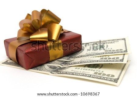 gift and money