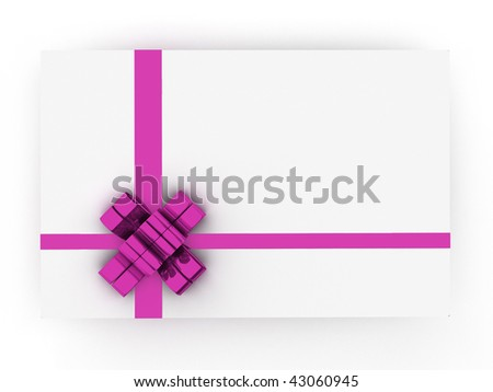 gift bow colored