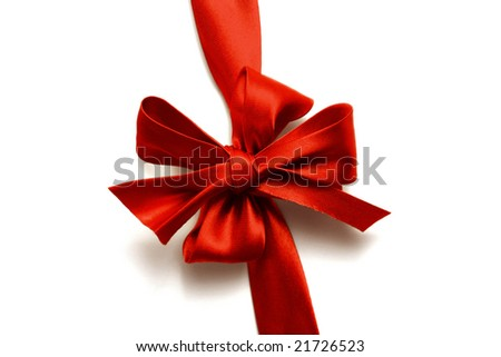 gift bow isolated
