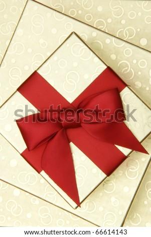 gift boxes - stock photo