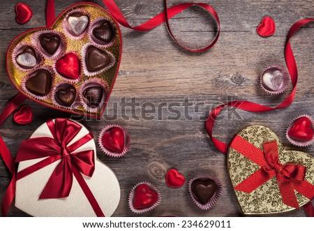 Hộp quà tặng sôcôla cho người sành ăn cho Ngày Valentine