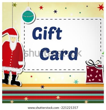 Text Santa Gift Card