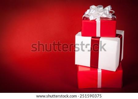 Gift, Christmas Present, Christmas. - stock photo