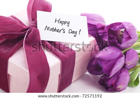 Gift for Mother's Day,Concept. - stock photo